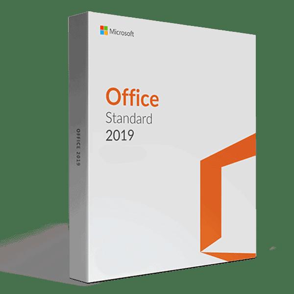 Microsoft Office 2019 Standard volume license price key