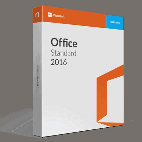 Microsoft Office 2016 Standard Volume license